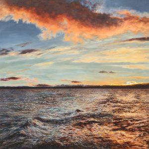 Seascape painting Julia Christie