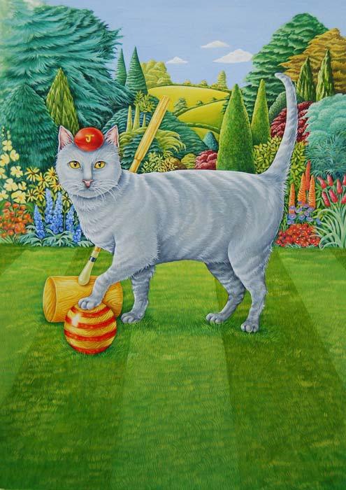 Connoisseur Cat illustration