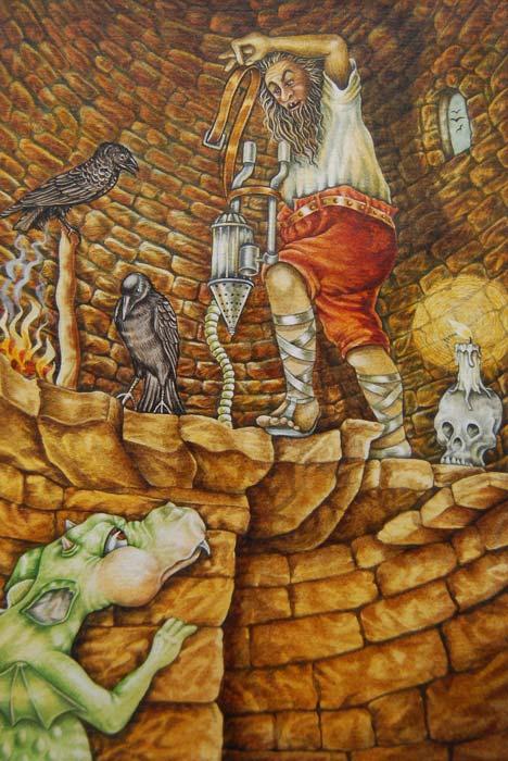 Saga of Ethelred Flametail illustration